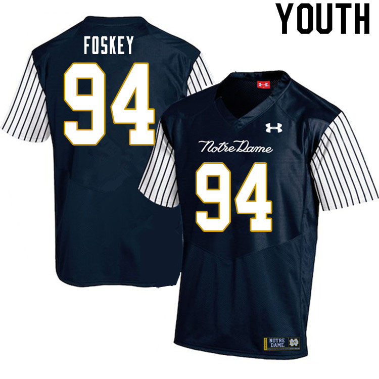 Isaiah Foskey Jersey : Official Notre Dame Fighting Irish ...